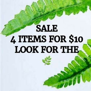 🌿 SALE 4 items for $10 ~ Look for the 🌿
